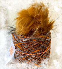 Pumpkin Spice color way in the Yarnz2go knit kit.