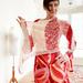 Lipstick & powder shawl pattern