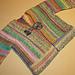 Phazelia's ribboned baby jacket pattern