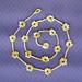 flower motifs and braids - a pattern