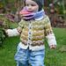 Children's Cardigan Where the Wild Sheep Roam pattern