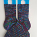 Hither and Thither Socks pattern