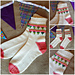 Party Bunting Socks pattern