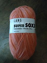 Lang Yarns Super Soxx Cashmere Color 4ply 904.0003//100 g Chaussettes Laine