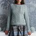 #08 Fretwork Pullover pattern