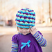 Mogul Mountain Beanie - Kids pattern