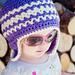 Zaggy Beanie - Kids pattern