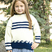 2911 Nautical Pullover pattern