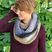F940 Ribbed Lace Cowl pattern