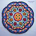 Overlay Mandala Pillow Cover pattern