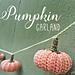 Pumpkin Garland pattern