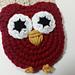 Owl Applique - Big Eyed pattern
