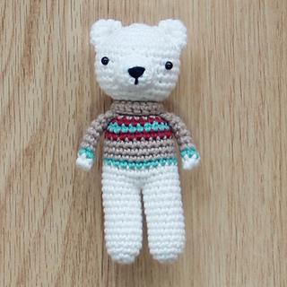 Fat Bear In Sweater Crochet Amigurumi Fat Stuffed Animal | Etsy | 320x320