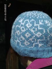 Four Snowflakes Hat