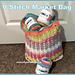 V Stitch Market Bag pattern