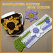 Sunflower Mug Cozie pattern