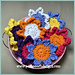Scrub It Flower Scrubby pattern