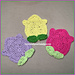 Tulip Coasters pattern