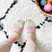 Love Island Socks pattern