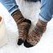 Bonfire Socks pattern