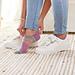 Pom Pom Ankle Socks pattern
