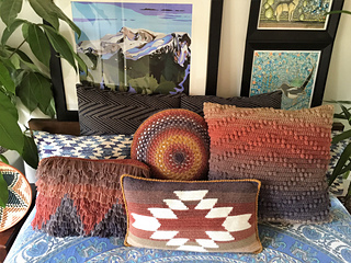 Brilliant Ravelry Mountain And Mesa Pillow Set Pattern By Susan E Dailytribune Chair Design For Home Dailytribuneorg