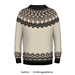 Classic Icelandic Sweater pattern