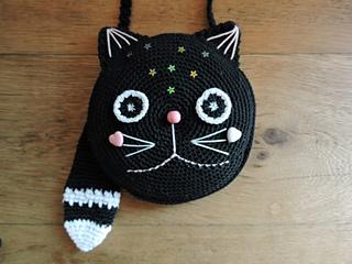 Crochet Pattern for Handbag Pink Cat. Amigurumi cat. For girls and ... | 240x320