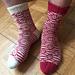 Mosaic Marbles Socks pattern