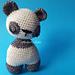 Wobbly Head Panda pattern