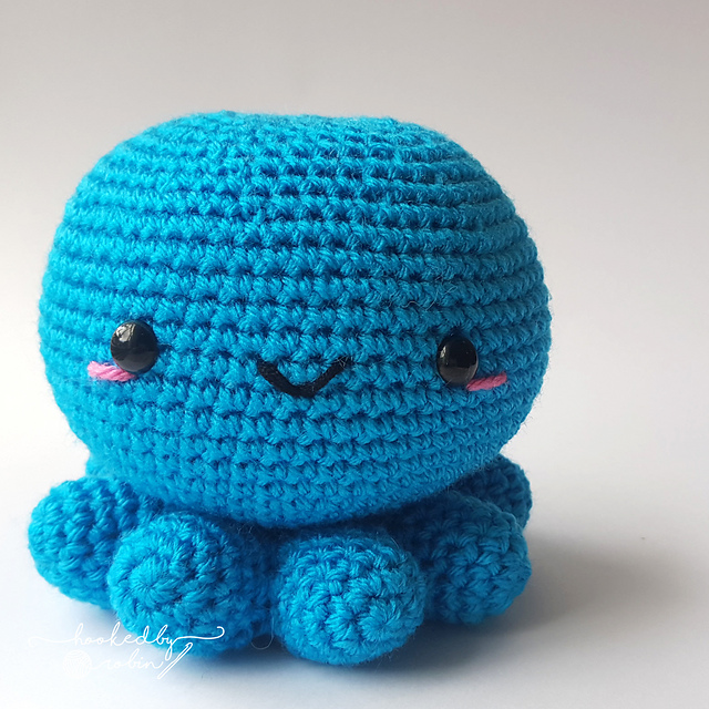 Flippy the octopus amigurumi DIGITAL ITEM Reversible Octopus PDF crochet pattern