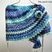 Blue Agate Shawl pattern