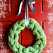 Cable Vision Wreath pattern