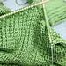Rice Stitch Baby Blanket pattern