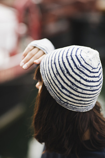 Marinière Hat & Mitts