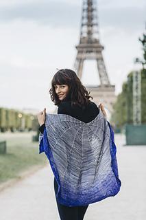 Tour Eiffel Shawl