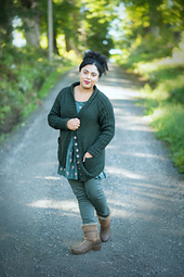 Greenbanks Hollow Cardigan by Amy Herzog