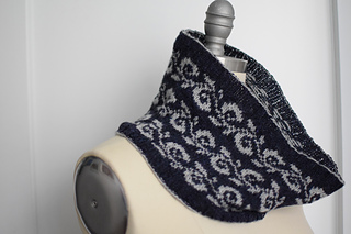 Enwreathed Cowl by Kathleen Dames