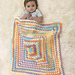 Happy Colors Baby Afghan pattern