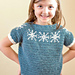 Child Snowfall Raglan pattern