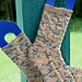 Shadowboxing Socks (Cuff Down) pattern