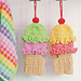 Ice Cream Cone Shower Mitt pattern
