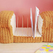 Bread Loaf Letter Organizer pattern