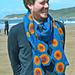 Geminids Meteor Crochet Scarf pattern
