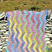 Zigzag Crochet Blanket pattern