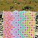 Rainbow Foxgloves pattern