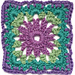 Passiflora Crochet Motif pattern