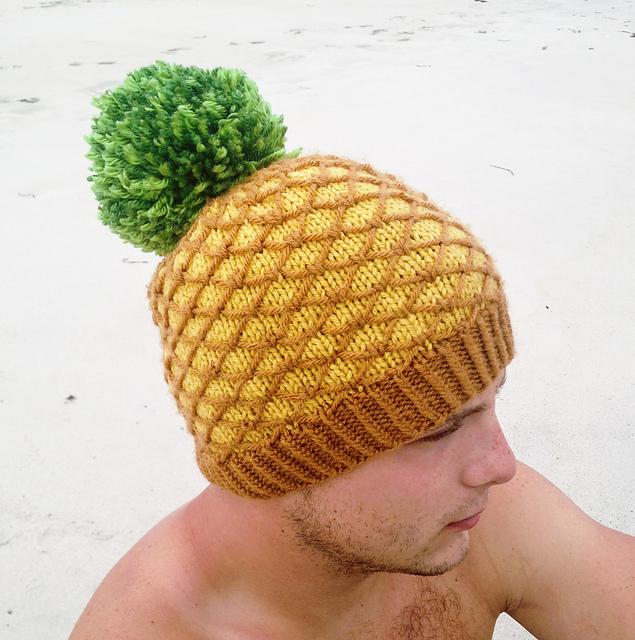 Pineapple Hat