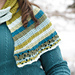 Asymmetrical Striped Shawl pattern