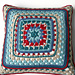 Worthing Pier Cushion Cover pattern